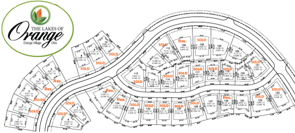 Build your dream home at the Lakes of Orange